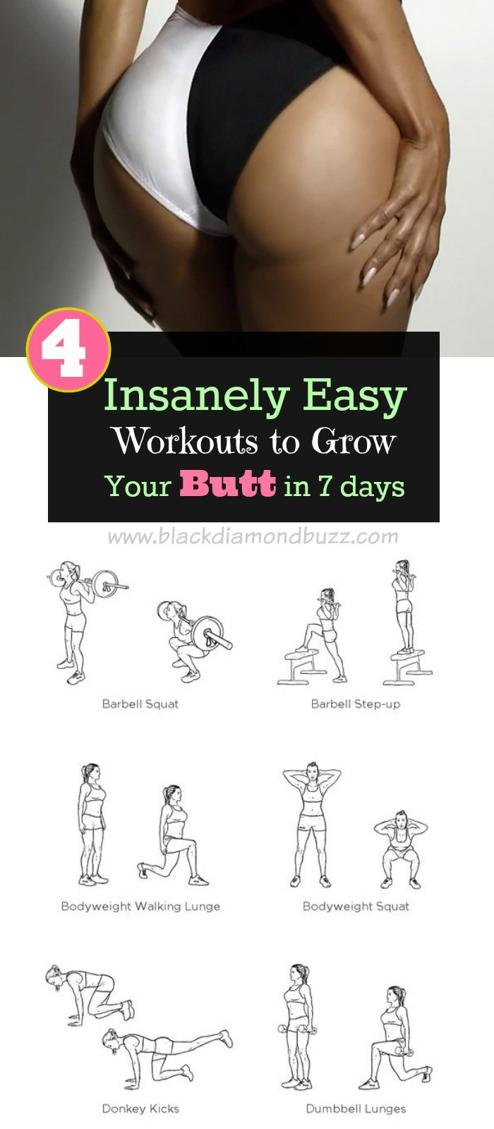 Exercise For Your Butt