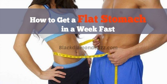 how to get abs fast in a week