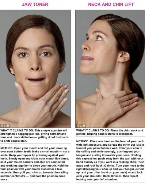 THE BEST EXERCISES FOR GETTING RID OF THAT UNWANTED DOUBLE CHIN ...