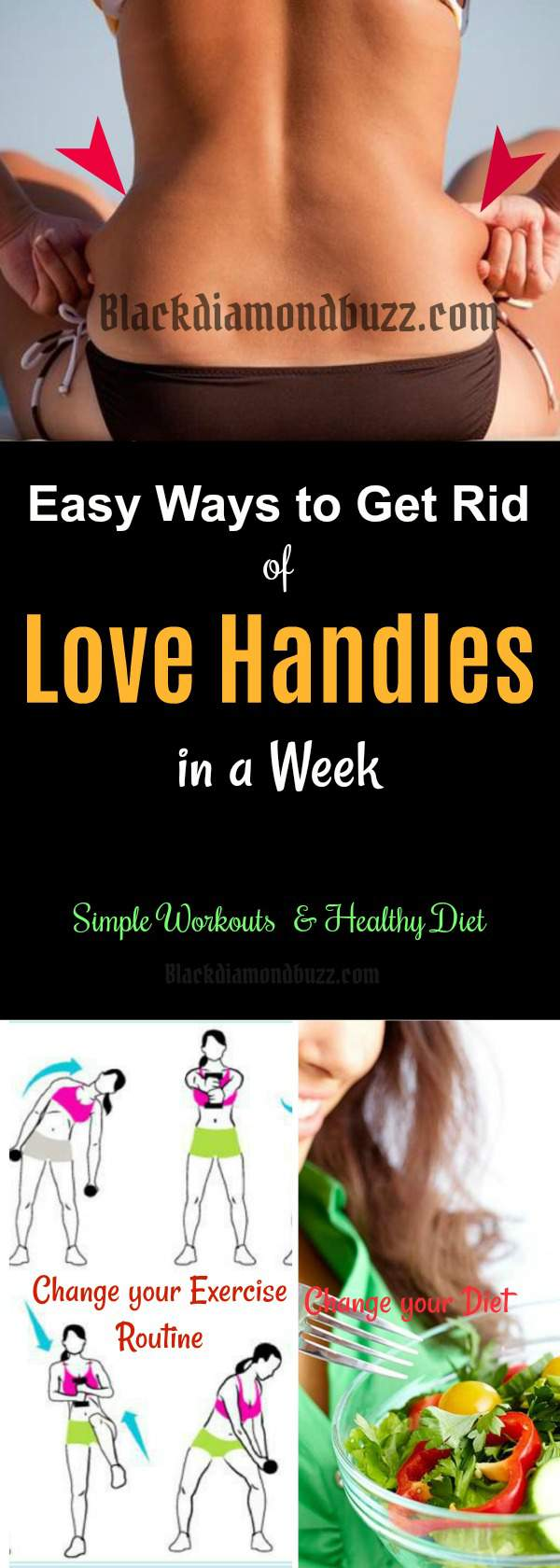 Workouts To Lose Love Handles In 2 Weeks | Workout ...