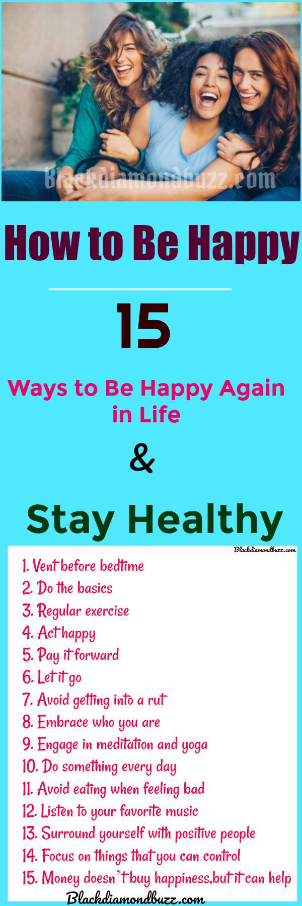 To be happy 15 ways to be happy again in life stay healthy how to be happy 15 ways to be happy again in life stay healthy ccuart Gallery