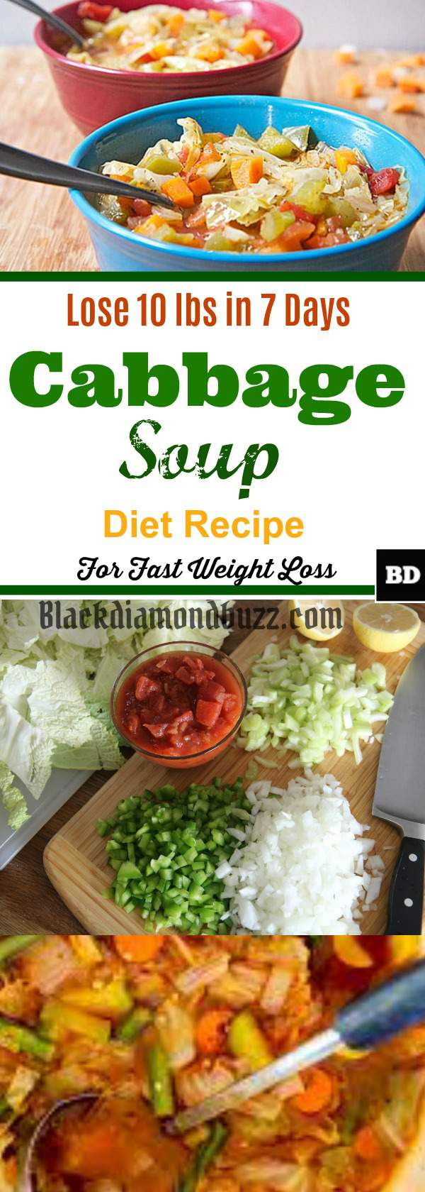 Best Cabbage Soup Diet Recipe For Weight Loss Lose 10 Pounds In 7 Days