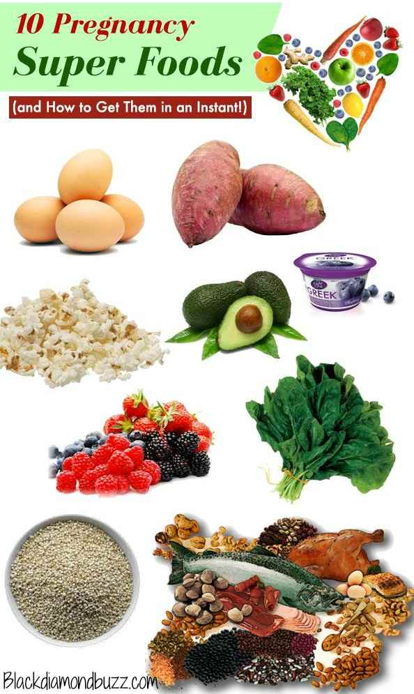 What Healthy Foods To Eat During Pregnancy